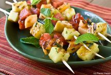Summer is Barbecue and Picnic Time / Barbecue & Grilled Foods, Picnic Ideas, Summer Time Fun Ideas!