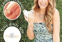 Get Engaged Like The Stars / There's nothing like having a little Hollywood flair of your own. Check out some of Tiny Jewel Box's favorite celebrity engagement rings and how you can also get the look with our help!