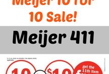Meijer Coupon Deals / Find the best Meijer Deals, how to use mperks, how to use meal planning at meijer, get the 411 on the Meijer Coupon policy, plus the Meijer Matchups, Meijer unadvertised deals, Meijer Freebies and more! Learn how to save money with Meijer Coupon Deals