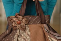 Bags from neckties