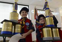 Cub Scout Pinewood Derby, Raingutter Regatta, and Space Derby