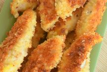 Chicken / Parmesan chicken pieces