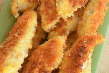 Chicken / Parmesan chicken pieces