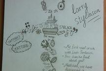Dibujos larry