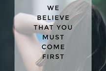 Manifesto / Our Manifesto features 20 quotes that are our mantra for our lives.