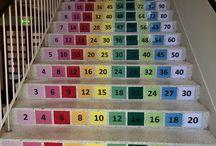 Escalier d'apprentissage