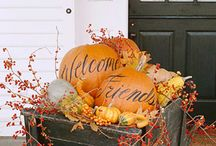 fall decor / by Robin Warner Schroth