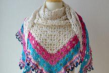 Gehaakte omslagdoeken en shawls