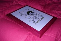 Betty Boop / by Disegni su vetro