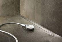 1. Douchegoten / Met een douchegoot bent u verzekerd van een waterdichte doucheafvoer.