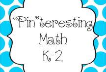 """Pin""teresting Math K-2"