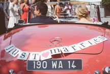 - Just married car -