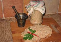 Pasztety, klopsy, pieczenie i smarowidła do chleba