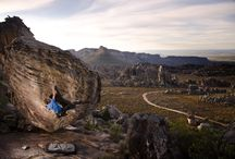 Rocklands : South Africa / Rocklands, South Africa. Orange rock, vast skies and the most incredible barbecued food you will ever have. Continue to read more about this beautiful adventurous place at : https://journal.wildbounds.com/journal/posts/rocklands-south-africa
