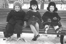 Ностальгия по прошлому,детству.... / Куда уходит детство,в какие города.....,туда где все были настоящими,и радовались походу с друзьями у костра,мандаринам на НГ(которые были спрятаны в шкафах) и ещё многому ...... ..
