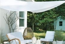 Backyard Shade Ideas / by UV Skinz - UPF 50+ Sun Protective Clothing