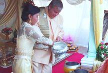 Boeddhistisch huwelijk in Thailand (video)