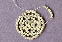 tejidos con perlas