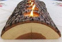 Dekorácie z dreva