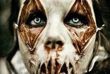 maquillage halloween horreur