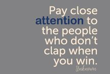 The Love Quotes Jealousy Quotes : Jealousy Quotes : Pay close attention to the people who don't clap when you win….