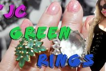 The jewellery channel 'green' rings