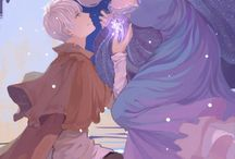 Jack Frost and Elsa~♡