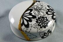 scatole  in ceramica