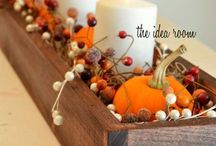 Fall-Inspired Home Decor / This is a board full of ideas on updating your home decor for the Autumn months for any style. Pin your favorites as ideas for your home this season!
