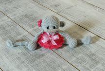 Stuffed toys - ALOM / Stuffed toys, plushies, crochet toys - hand made by ALOM