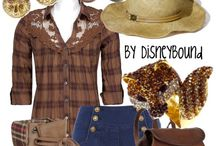 Movie inspired outfits / From Disney to superheroes