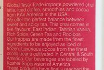 Chai, Cocoa & Mocha