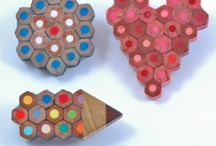 pencil upcycle / marjolaine tougas / pencil upcycle