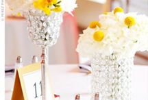 Clare's Wedding / Lovely yellow ideas for my friend