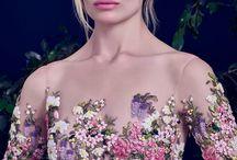 Suknie ślubne z kwiatami!