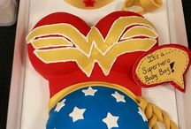Justice Milan Baby Shower ideas for Shyreka Super Hero Theme