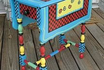 Whimsical furniture / by Kathy Mower