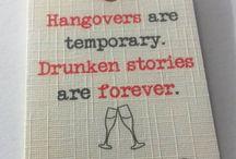 Hangover kits