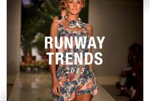 Miami Swim 2015 Runway Trends / Time for some seaside inspiration from the runways of Mercedes-Benz Fashion Week Swim 2015! Which looks do you love? / by TRESemmé