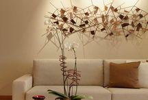Esculturas de parede