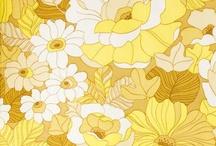 黄色 フラワー 壁紙