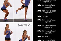 Leg Exercises / by Real Life Workouts