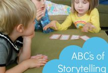 Storytelling Activities,Projects and Games  / teaching storytelling, workshop ideas, playing with your children and grandchildren