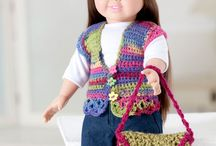 "CROCHET FOR 18"" DOLLS / Crochet for 18"" Dolls / by Delores Stanich"