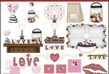 Valentines Day Clipart Graphic Sets