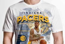 Indiana Pacers / Officially licensed NBA player graphic apparel for all of the Indiana Pacers top players.