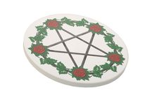 Pagan Home Goods / Pagan items for your kitchen, sacred spaces, bedroom, living room, and beyond.  Pillows, mugs, altar cloths, wall hangings, artwork, etc for any magickal tradition.