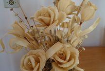 papírové kevěty
