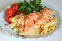 pasta och potatis