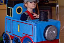 My Photos / Thomas the train Halloween costume DIY I had so much fun making this for my son! / by Gretchen Kyte